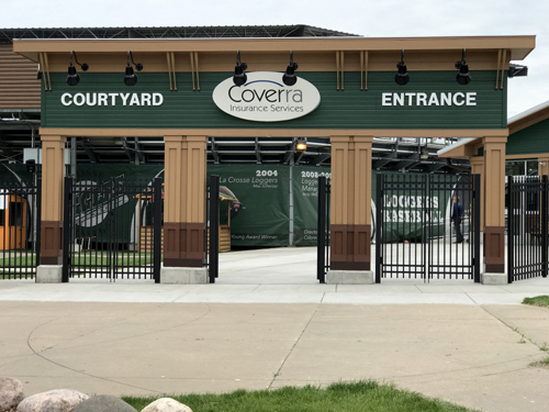 Coverra Insurance Services Courtyard Entrance